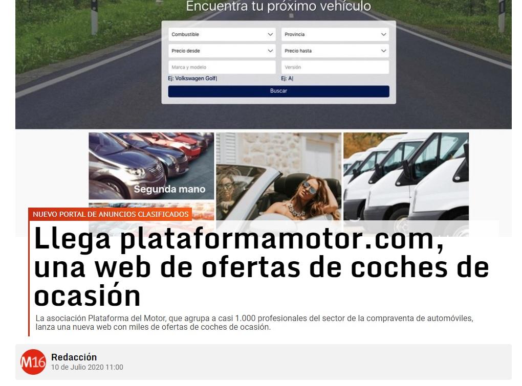 Plataforma motor web